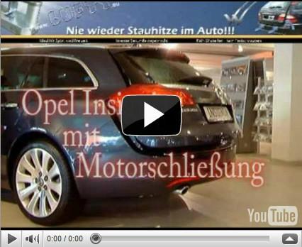 Lufty® im Opel Insignia mit Motorschließung