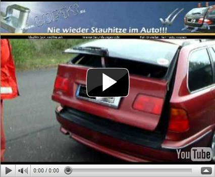 Fenster - Lufty® im BMW mit Motorschließung