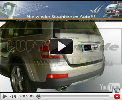 Lufty® im Mercedes Benz GL