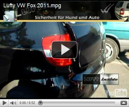 Lufty® Ein- und Ausbau am VW Fox